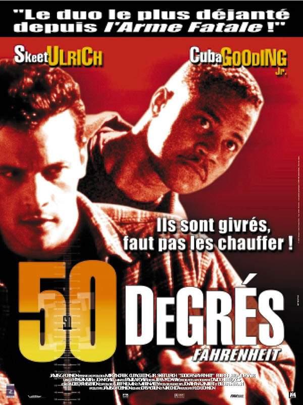 affiche du film 50 degrés Fahrenheit