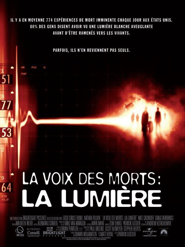 affiche du film La Voix des morts : La Lumière