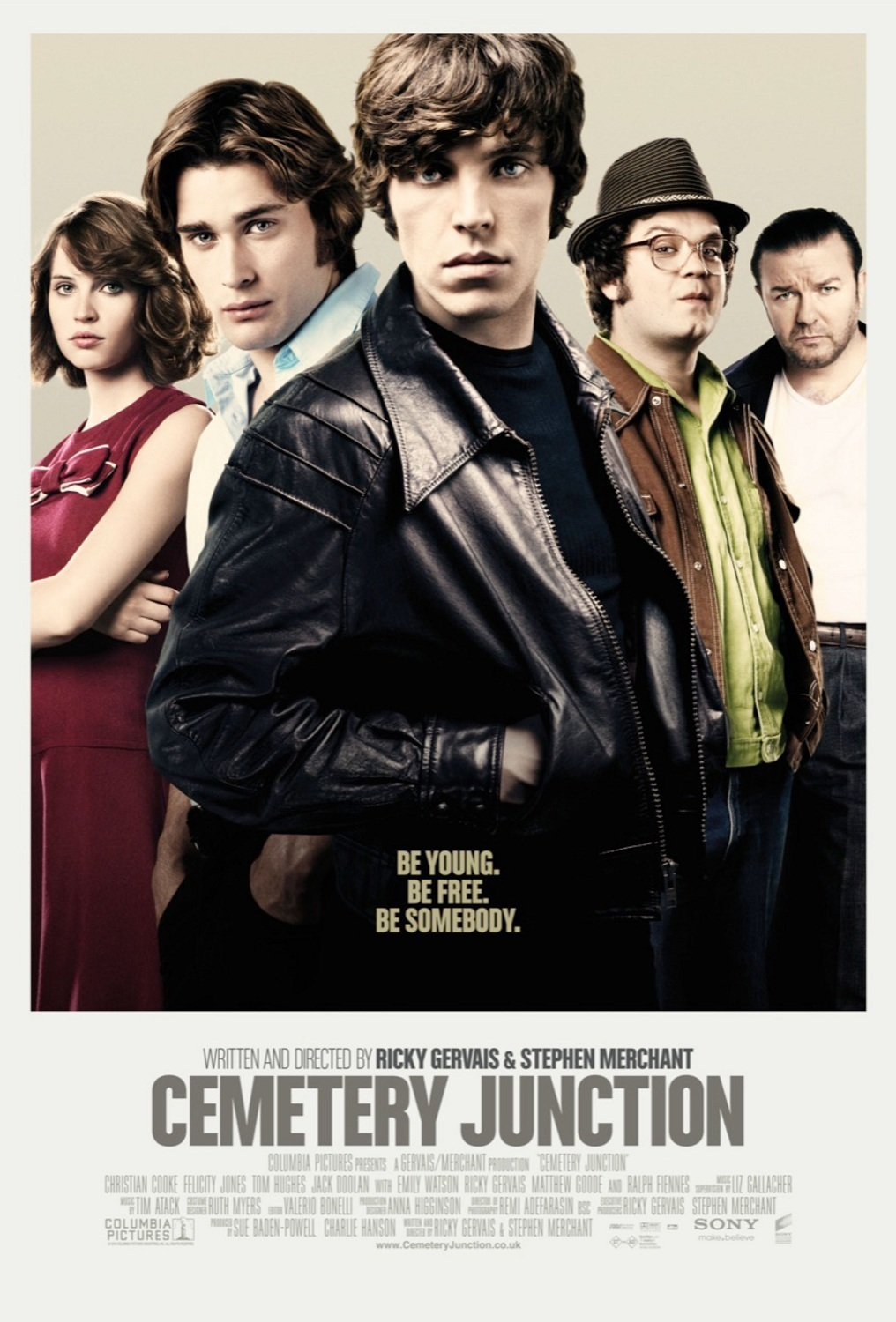 affiche du film Adieu à Cemetery Junction