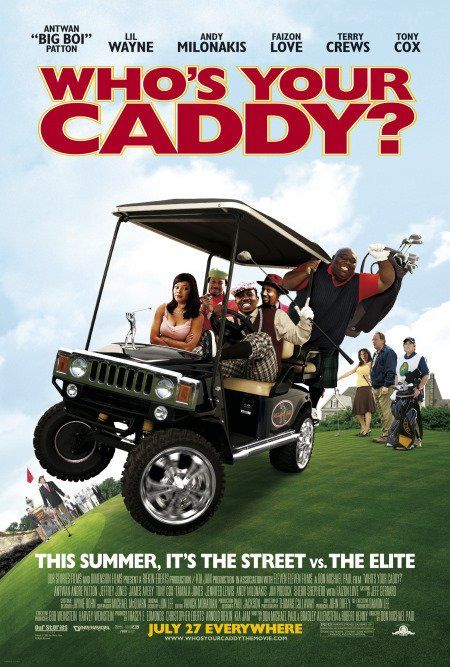 affiche du film Who's Your Caddy?