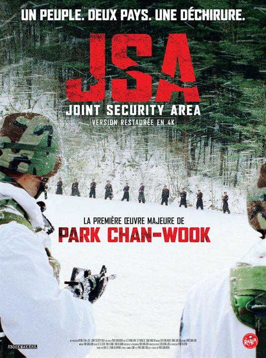 affiche du film JSA - Joint Security Area