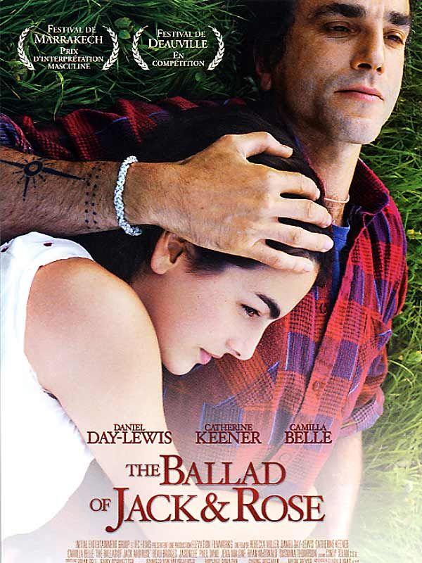 affiche du film The Ballad of Jack and Rose