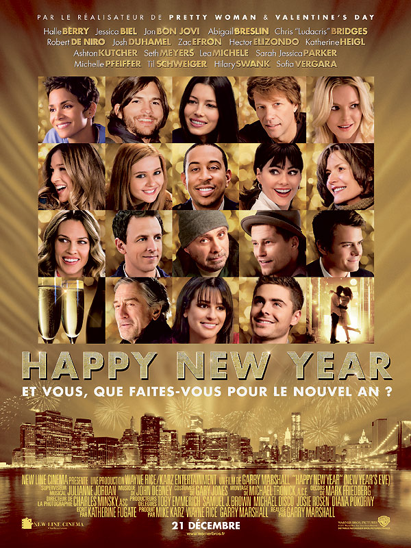 affiche du film Happy New Year (2011)