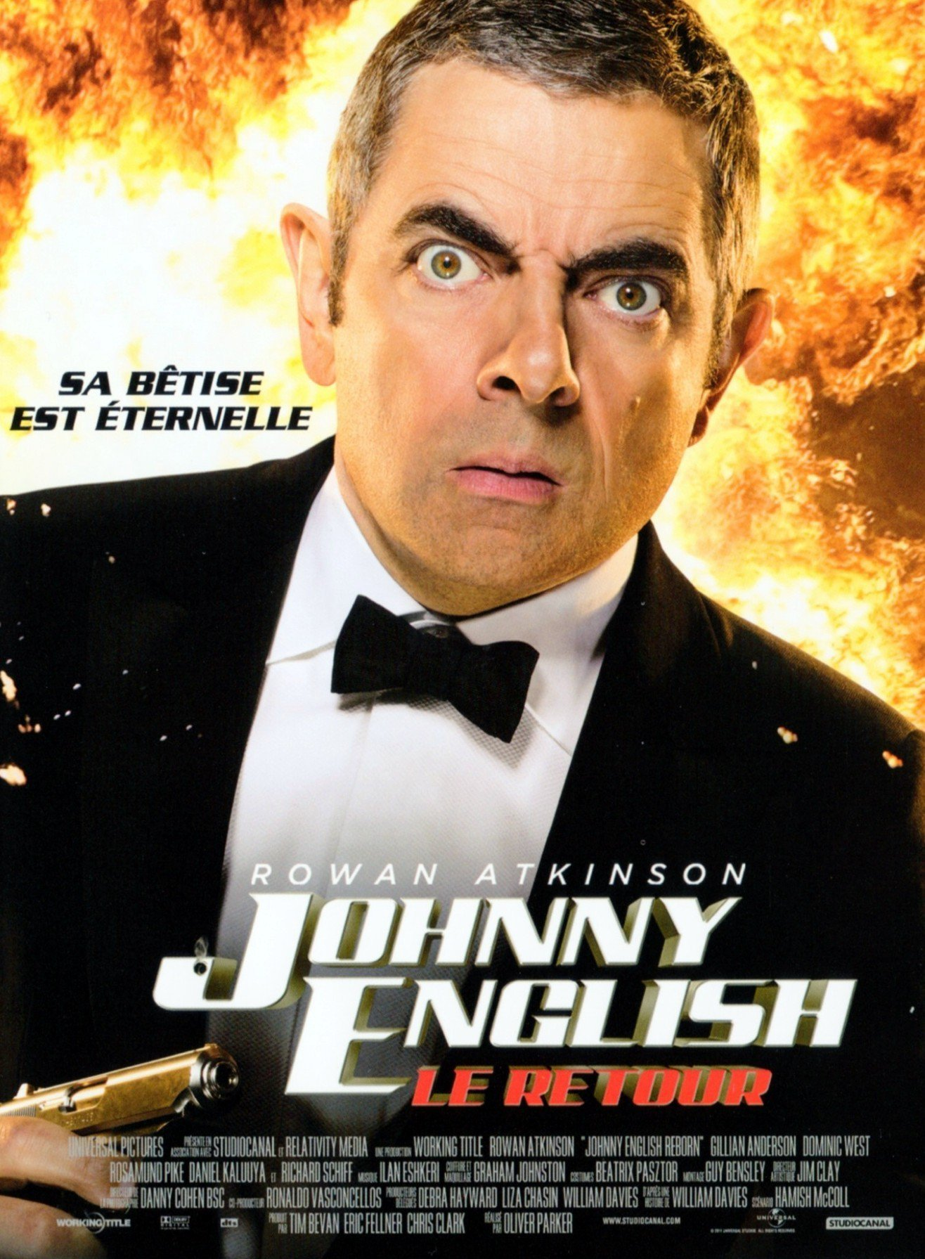 affiche du film Johnny English, le retour