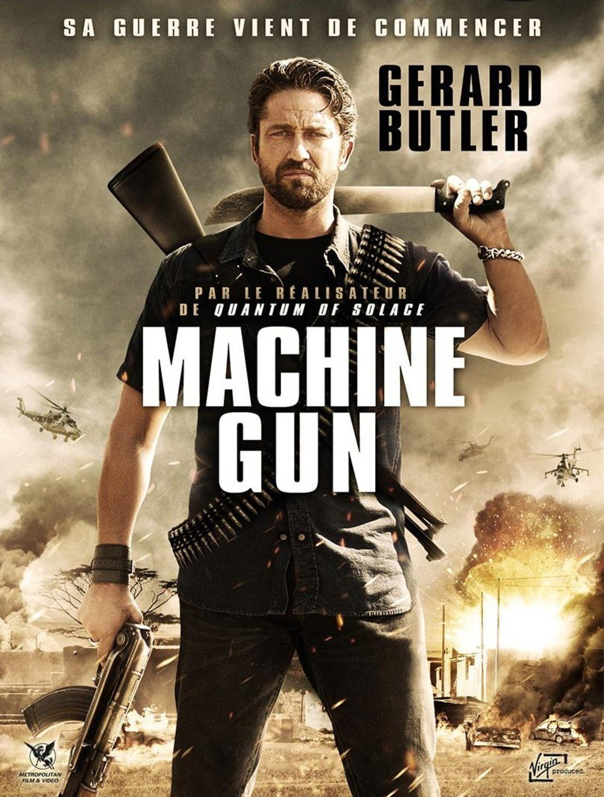 affiche du film Machine Gun