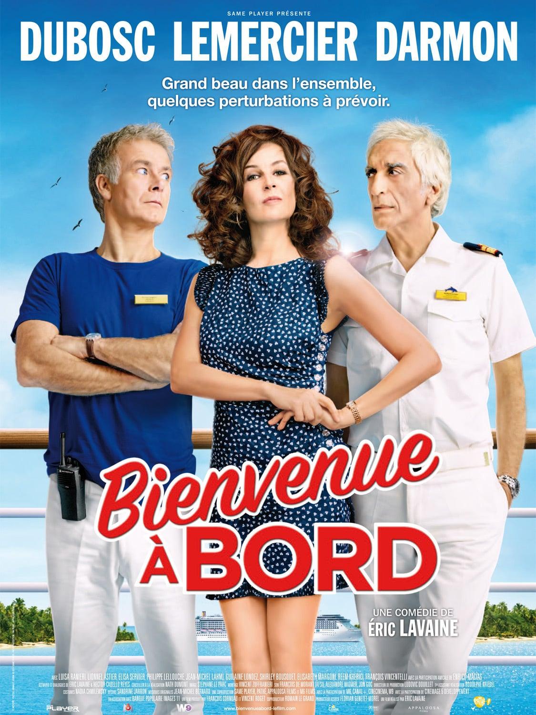 affiche du film Bienvenue à bord