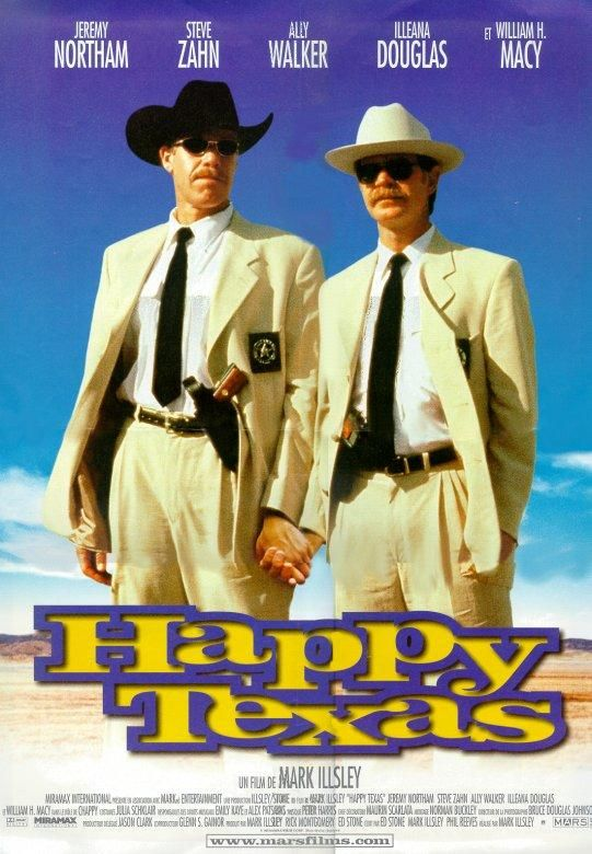 affiche du film Happy, Texas