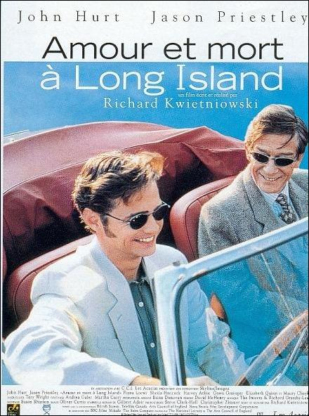 affiche du film Amour et mort à Long Island