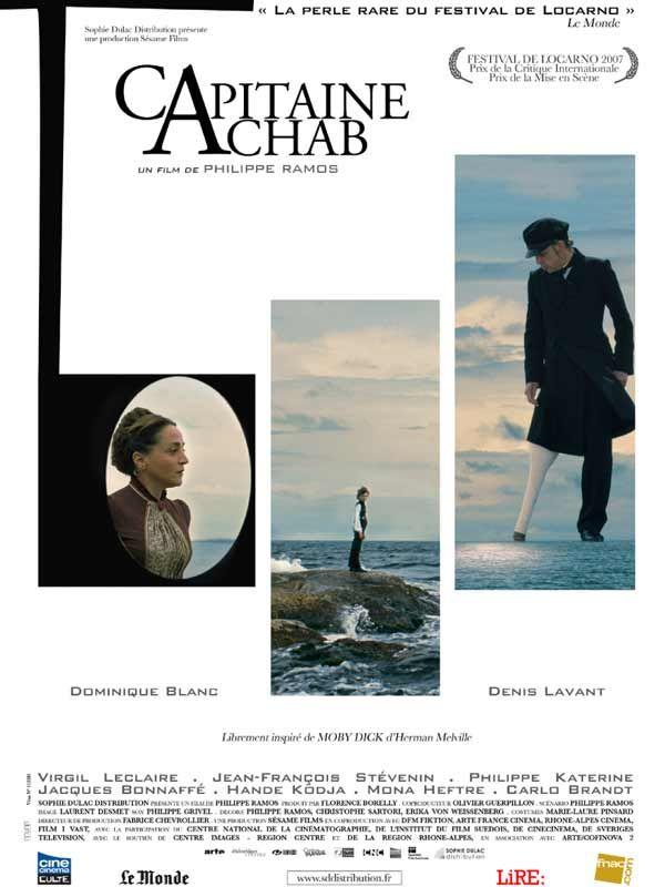 affiche du film Capitaine Achab