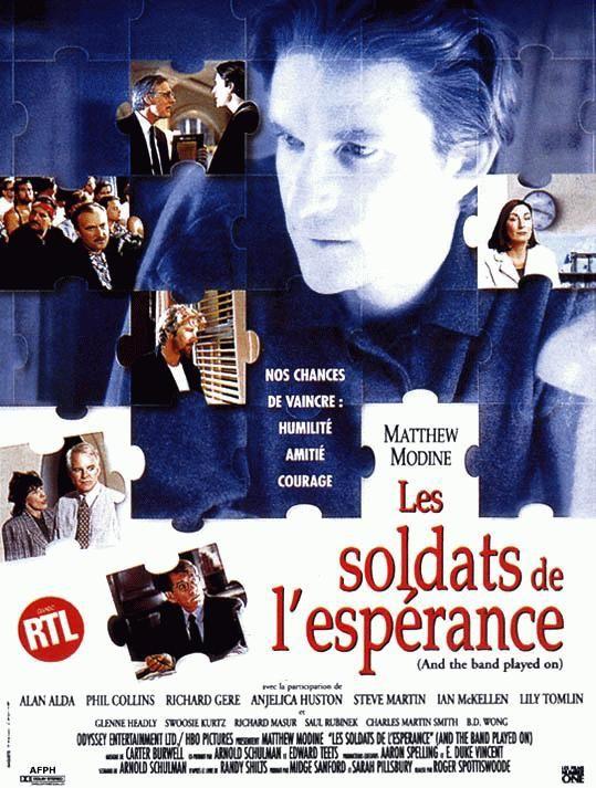 affiche du film Les soldats de l'espérance (TV)