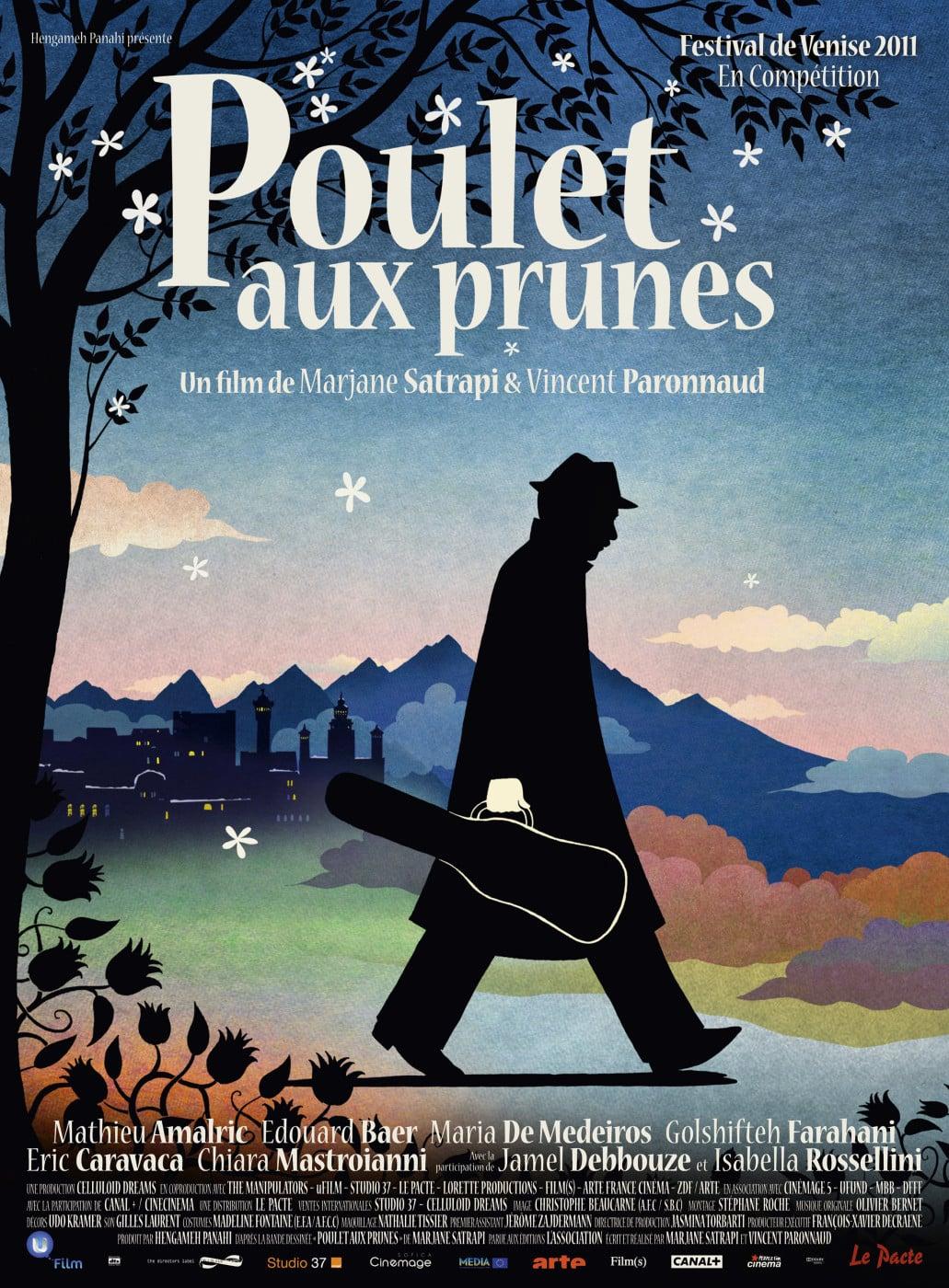affiche du film Poulet aux prunes