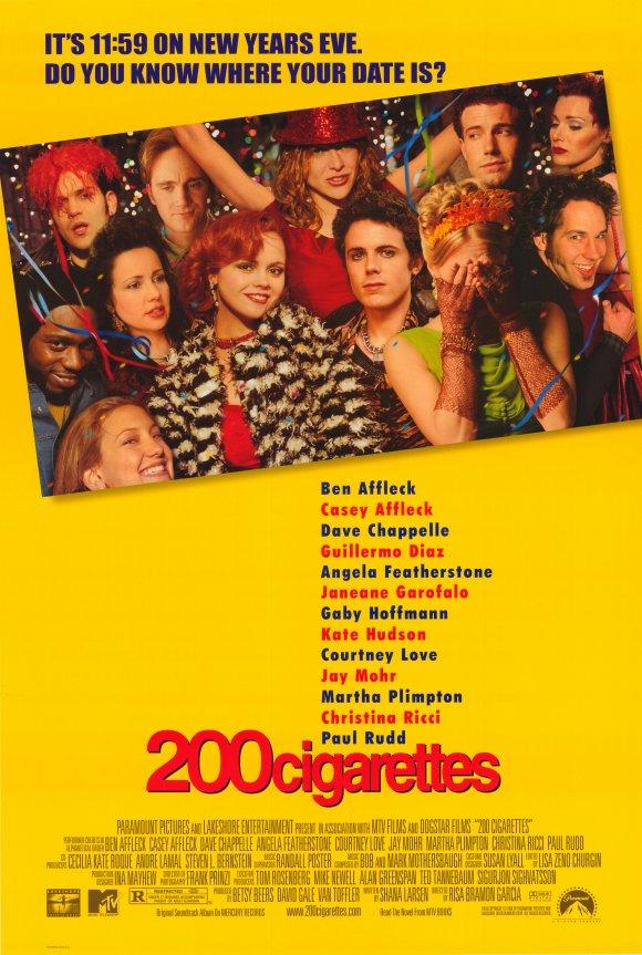 affiche du film 200 Cigarettes