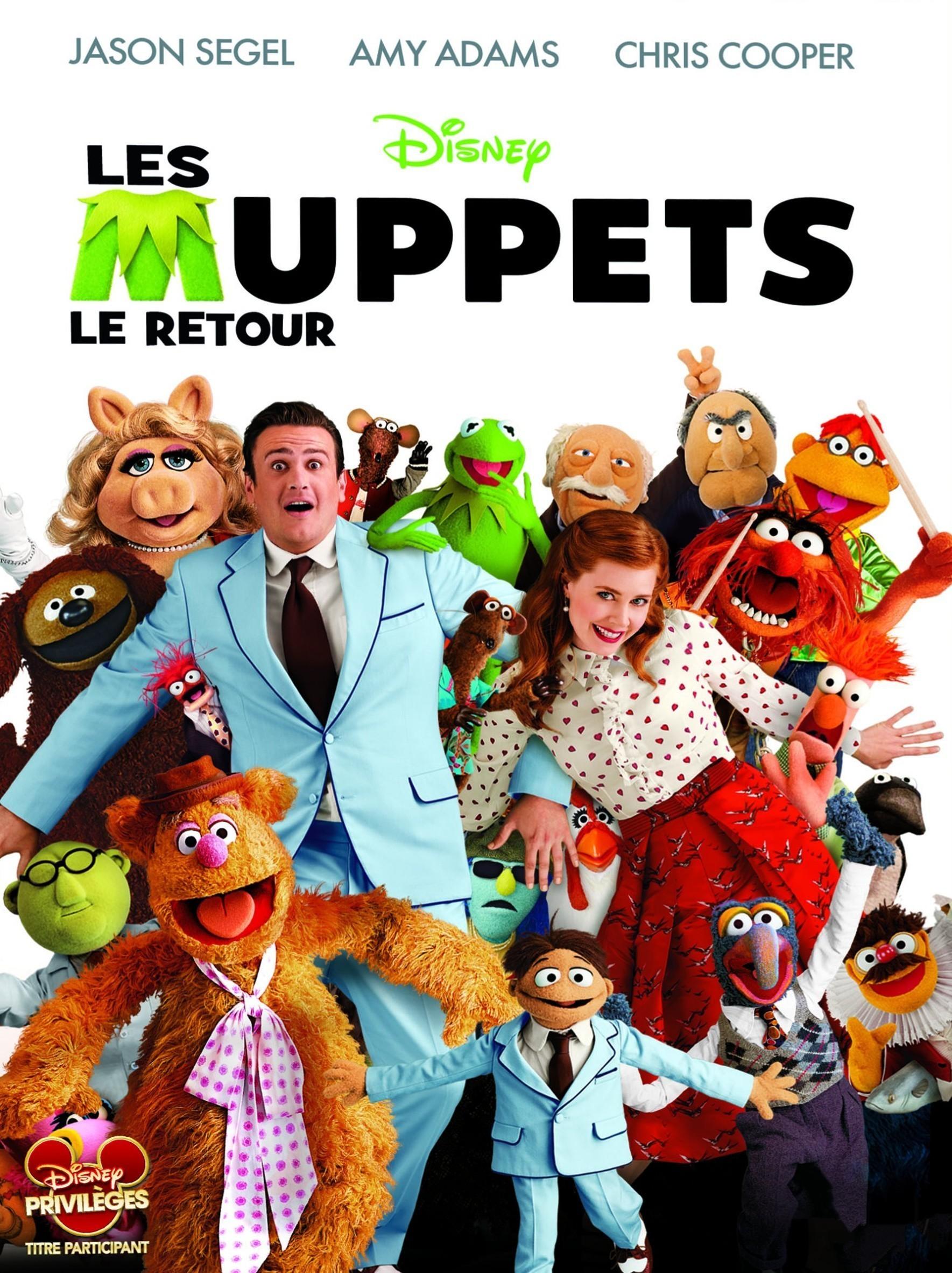 affiche du film Les Muppets, le retour