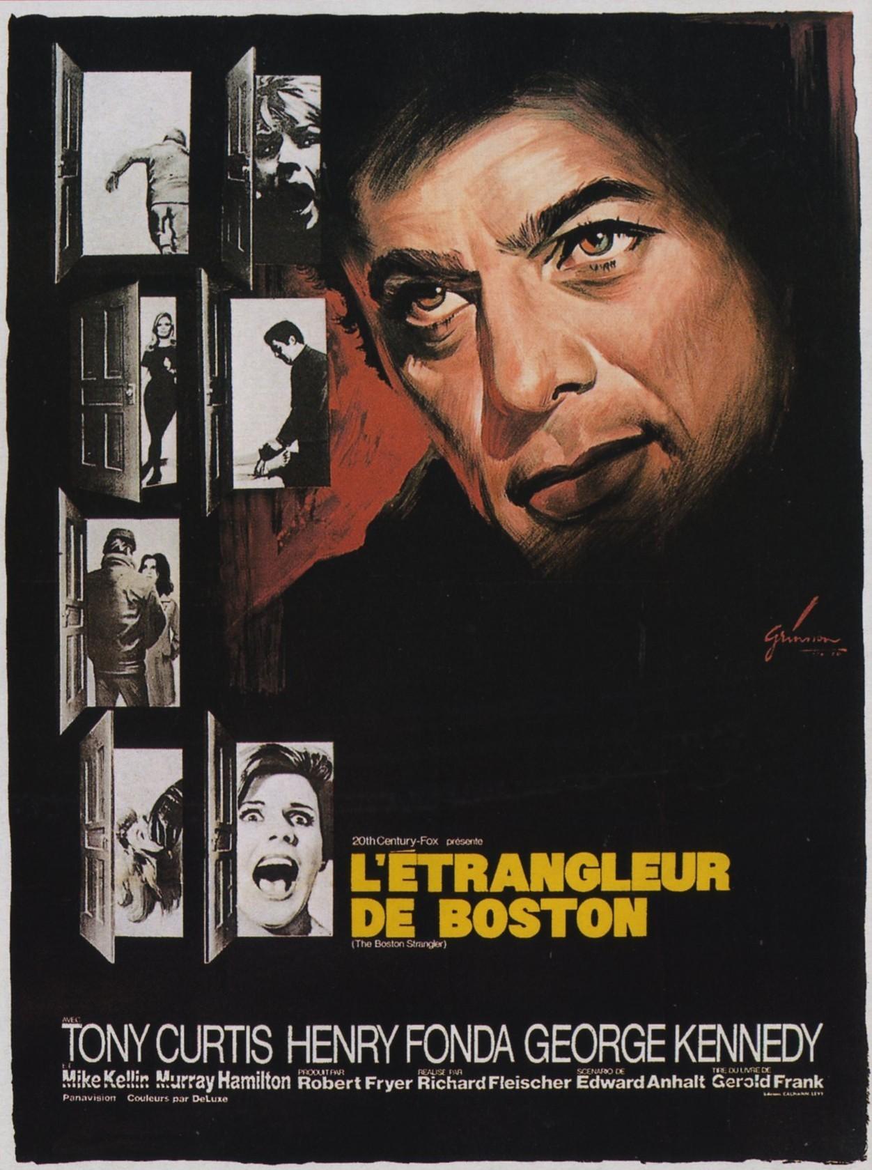 affiche du film L'étrangleur de Boston