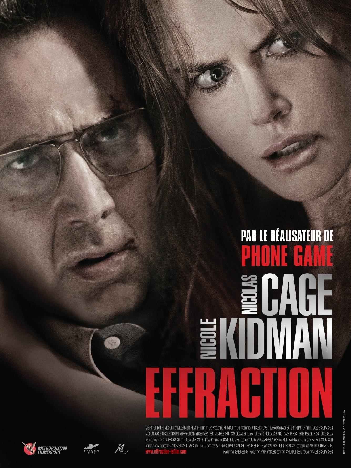 affiche du film Effraction
