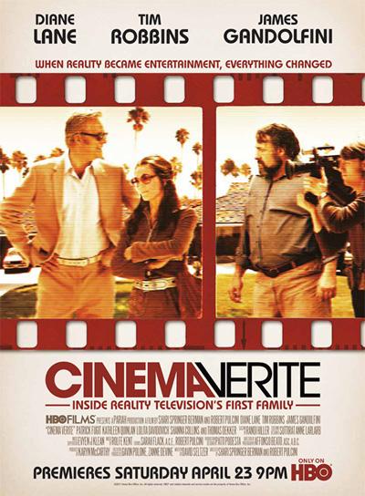 affiche du film Cinema Verite (TV)