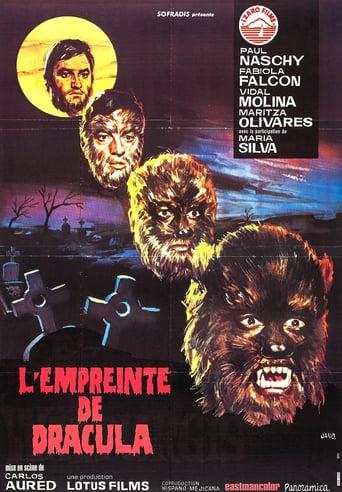 affiche du film L'empreinte de Dracula