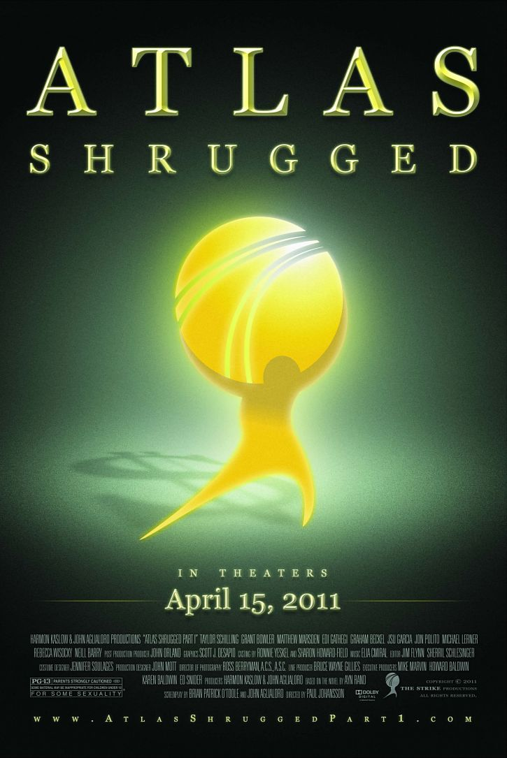 affiche du film Atlas Shrugged: Part I