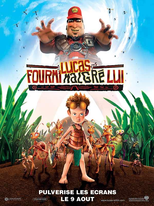 affiche du film Lucas fourmi malgré lui