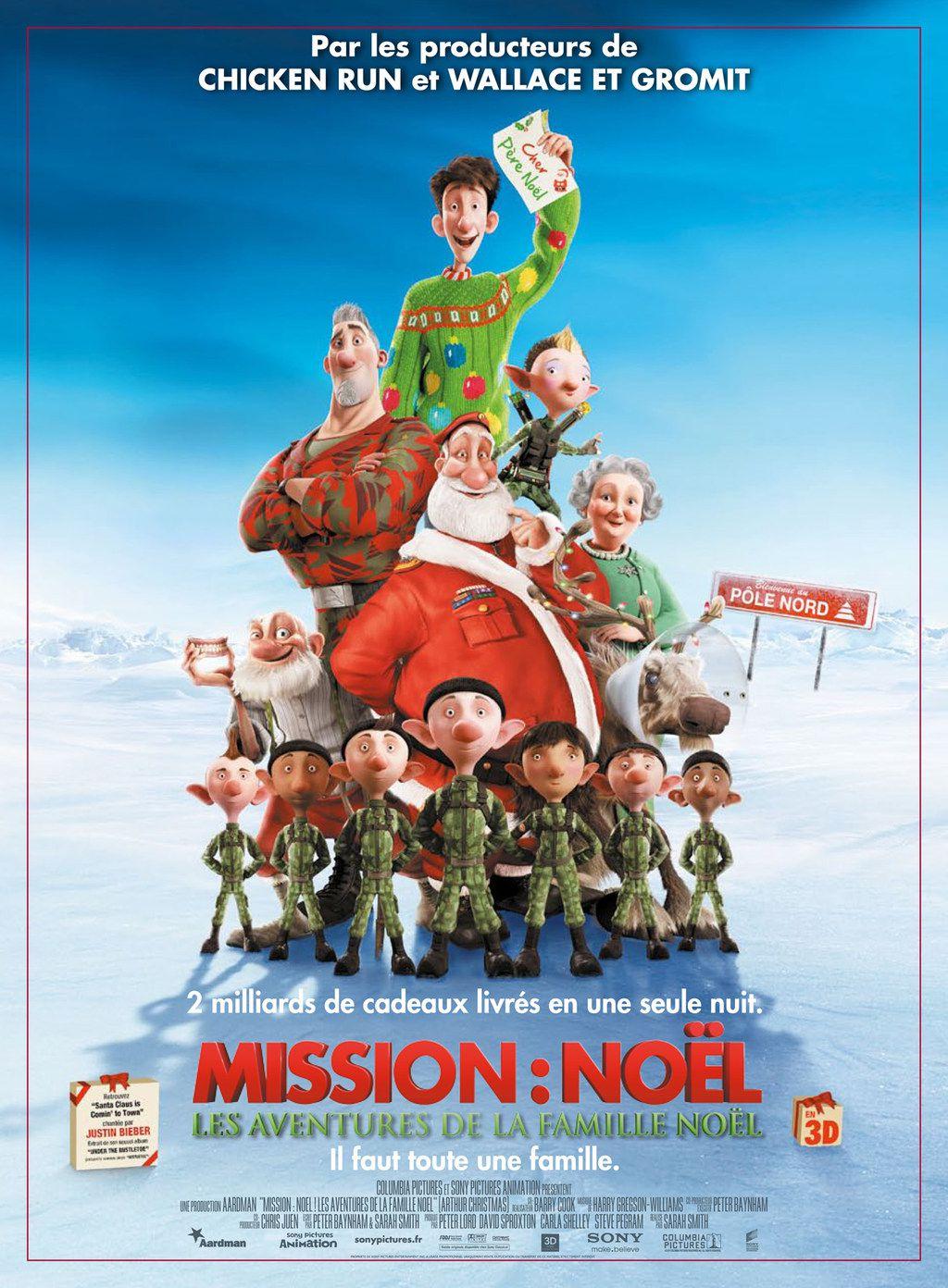 affiche du film Mission: Noël - Les aventures de la famille Noël
