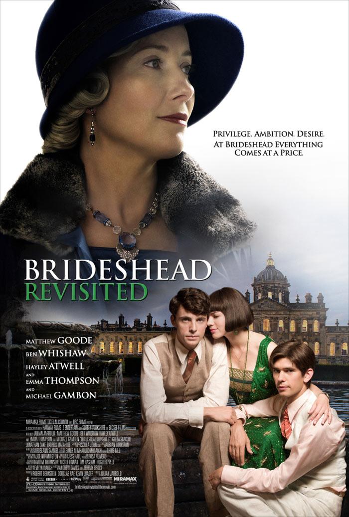 affiche du film Retour à Brideshead