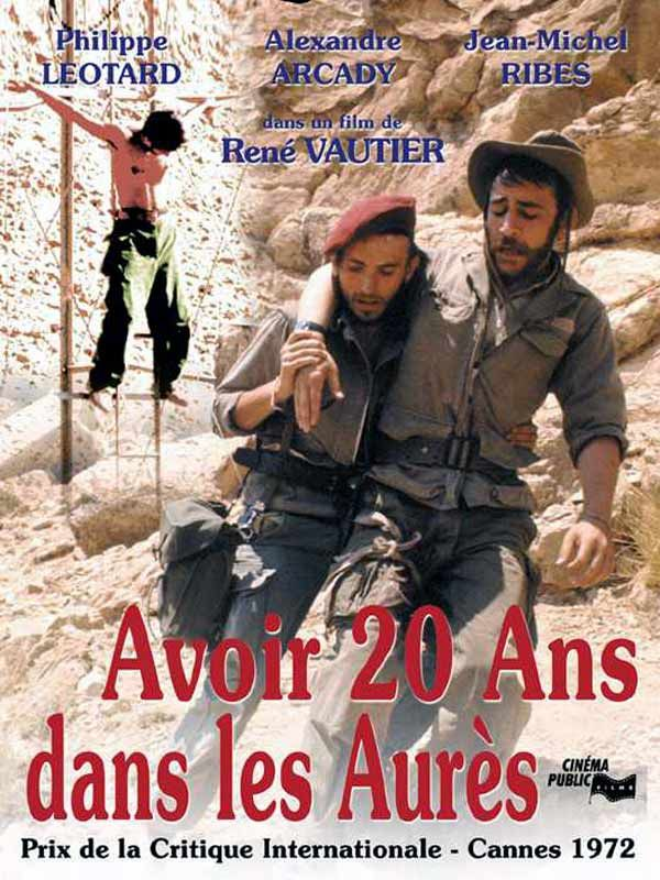 affiche du film Avoir 20 ans dans les Aurès