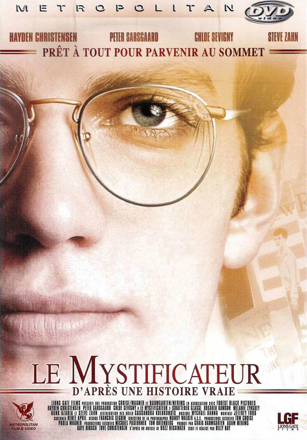 affiche du film Le mystificateur