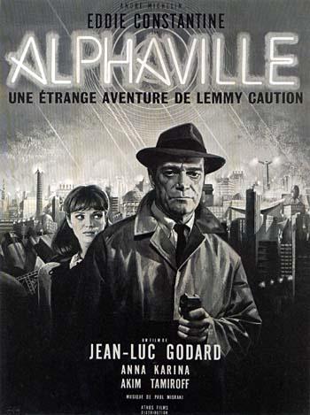 affiche du film Alphaville, une étrange aventure de Lemmy Caution