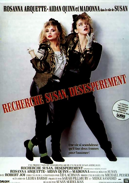 affiche du film Recherche Susan désespérement