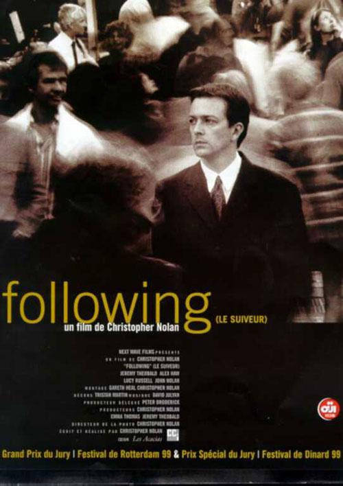affiche du film Following, le suiveur