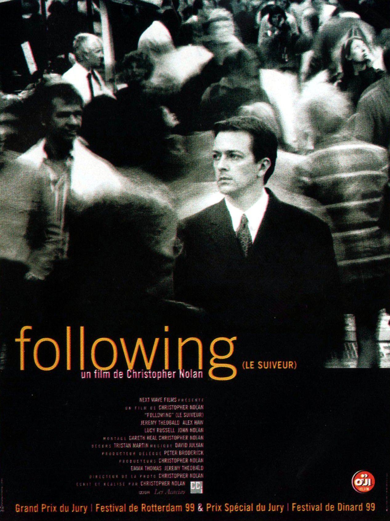 affiche du film Following - Le suiveur