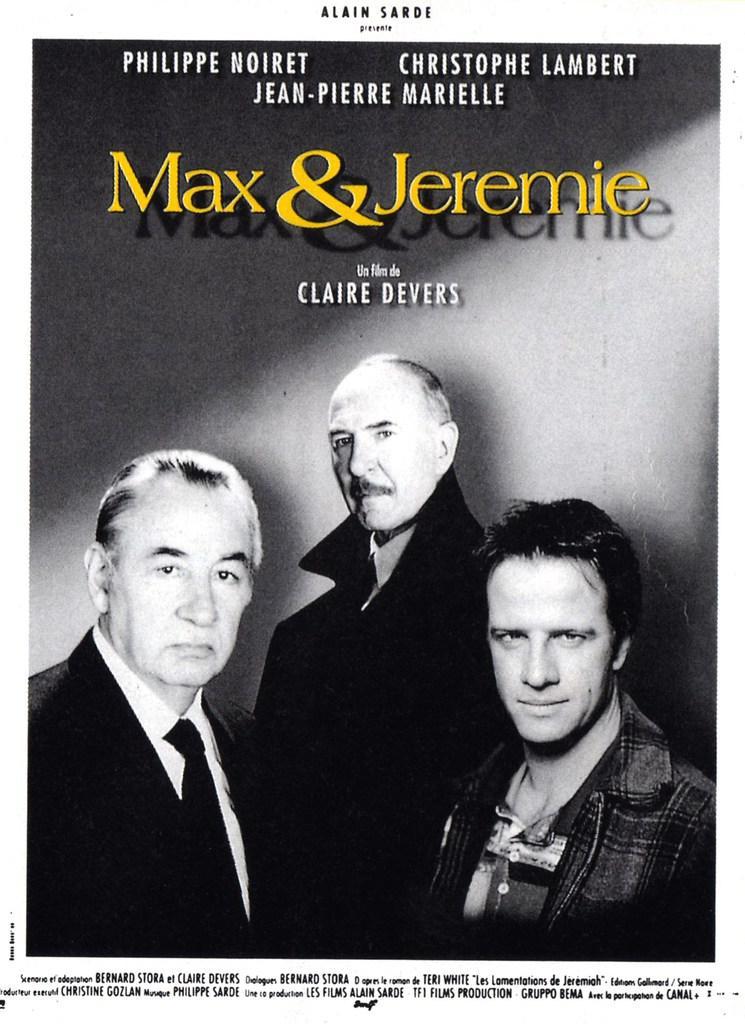 affiche du film Max & Jérémie