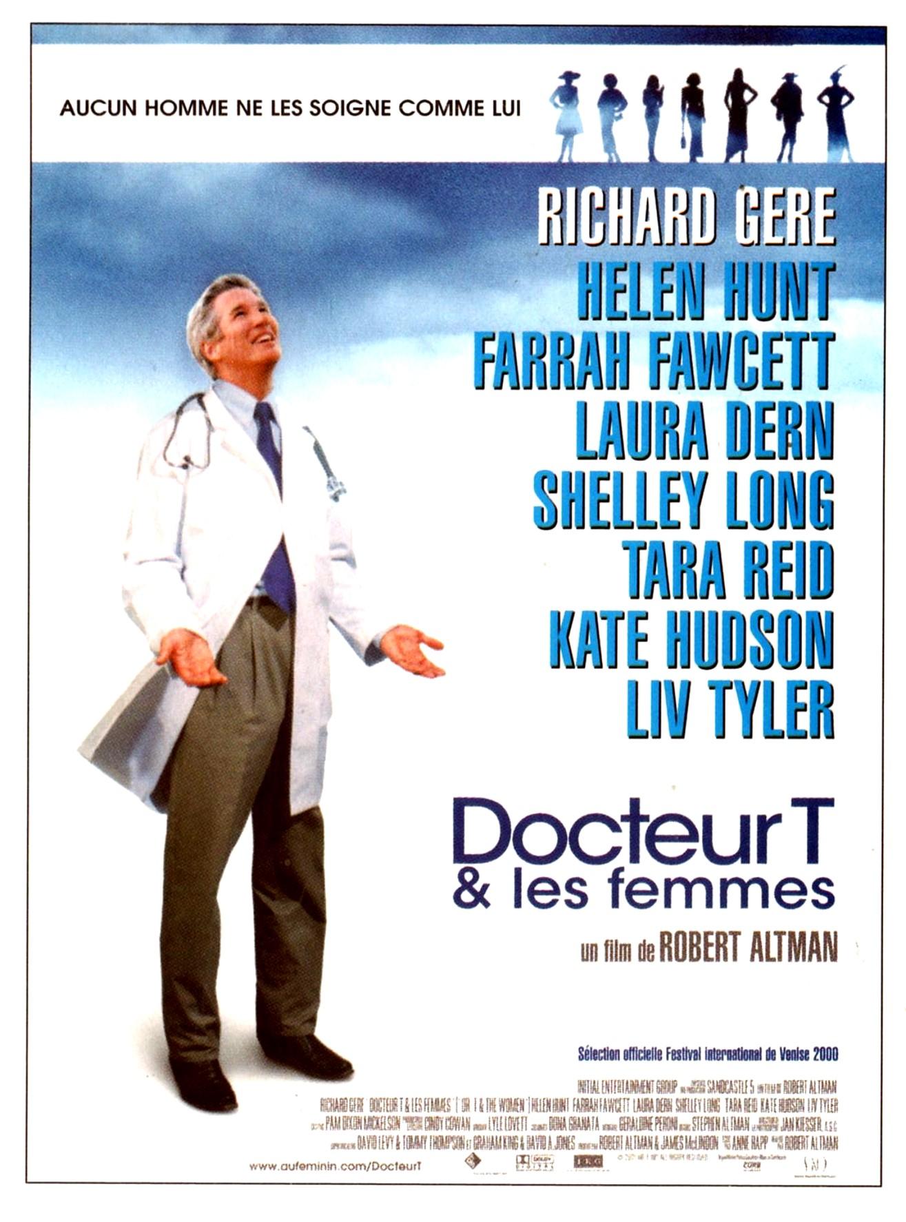 affiche du film Docteur T & les femmes