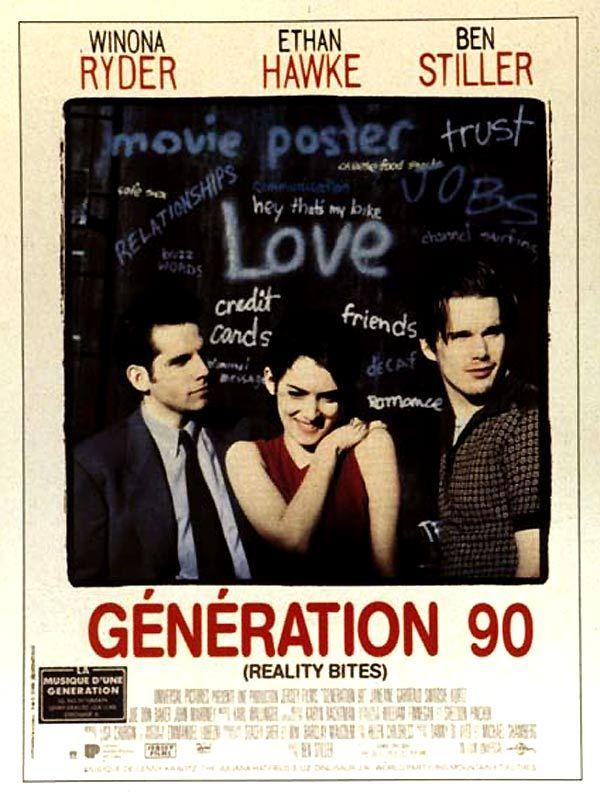 affiche du film Génération 90
