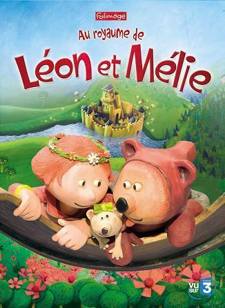 affiche du film Au royaume de Léon et Mélie