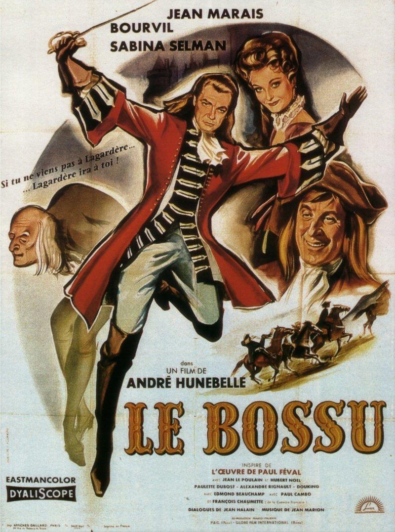 affiche du film Le Bossu (1959)