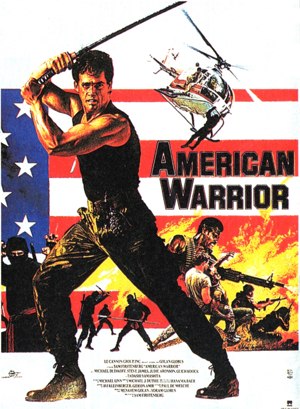 affiche du film American Warrior