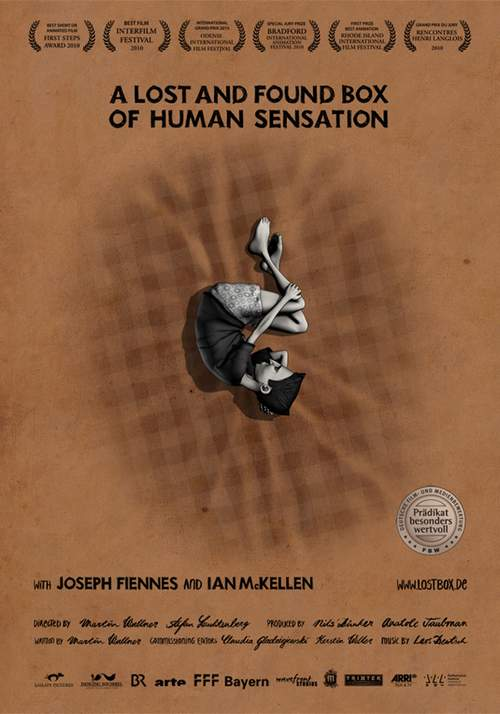 affiche du film A Lost and Found Box of Human Sensation
