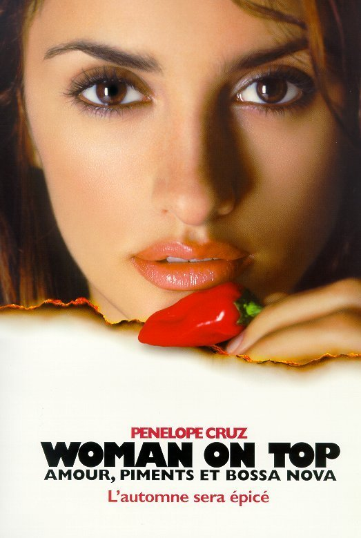 affiche du film Woman on top - Amour, piments et bossa nova