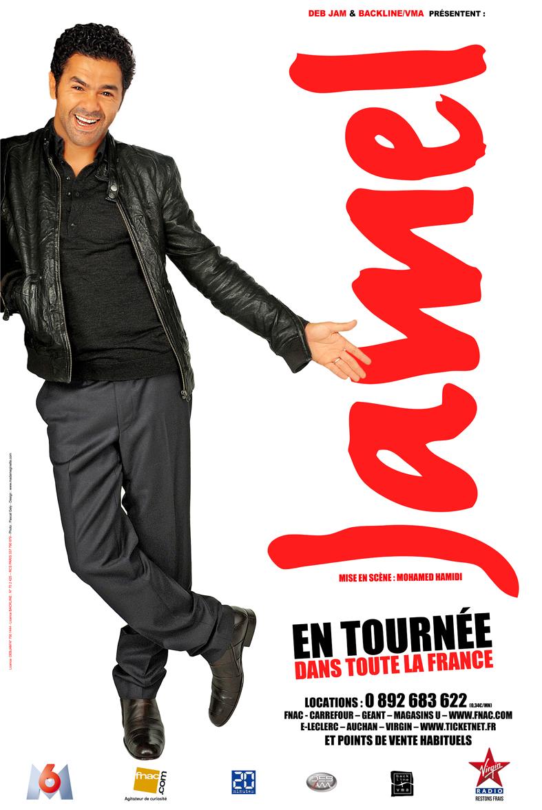 affiche du film Jamel Debbouze: Tout sur Jamel