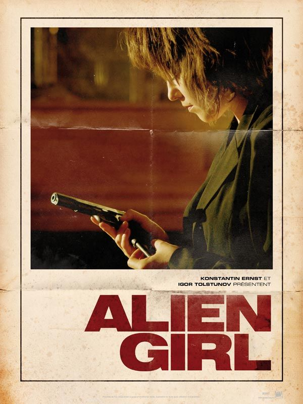 affiche du film Alien Girl