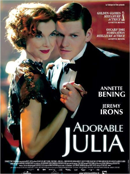affiche du film Adorable Julia