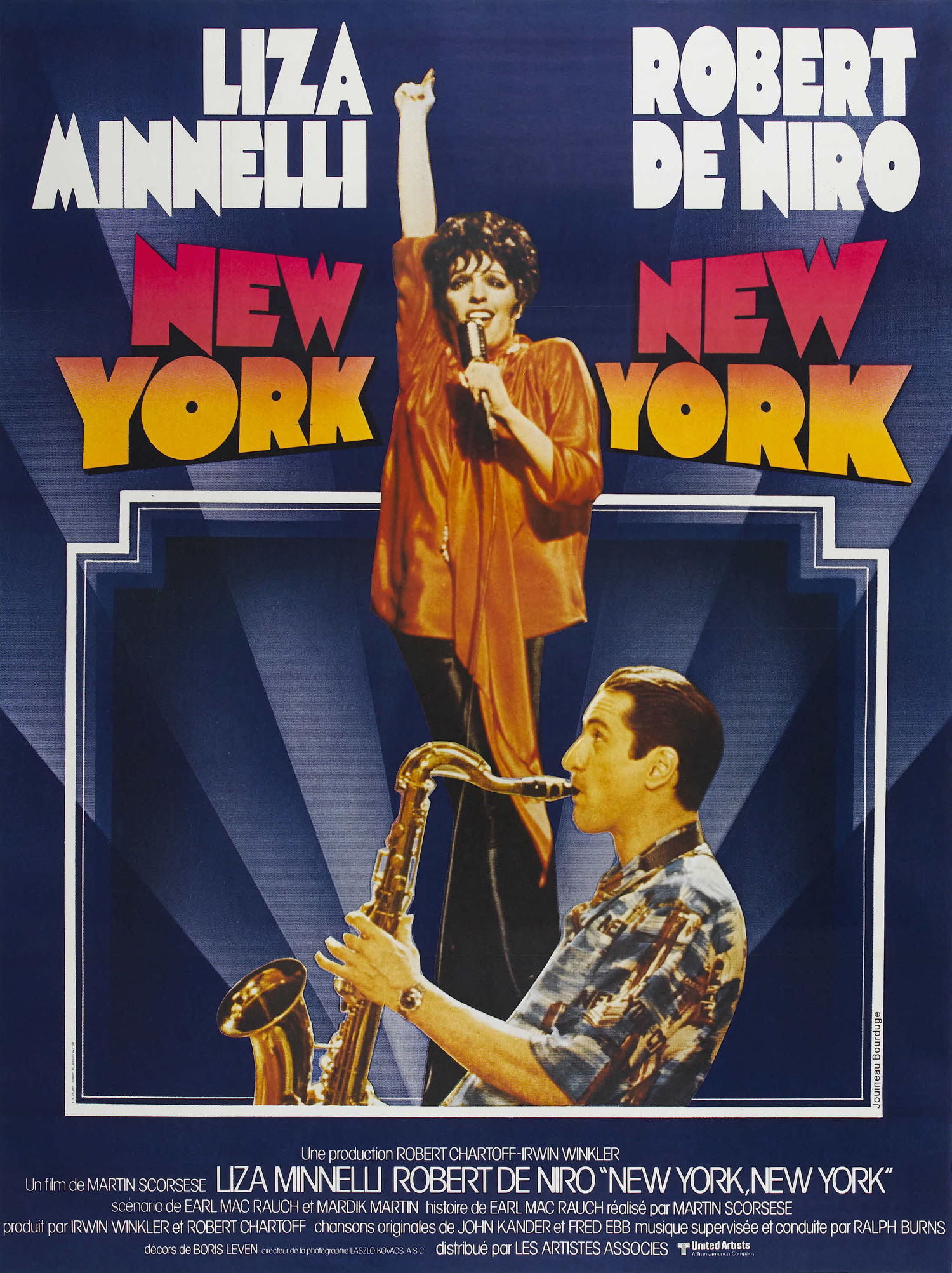 affiche du film New York, New York
