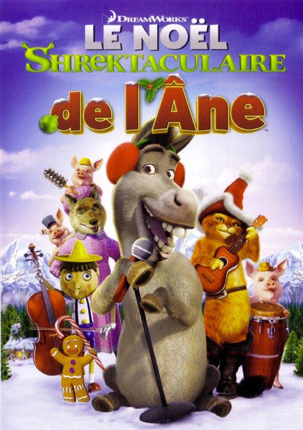 affiche du film Le Noël Shrektaculaire de l'âne