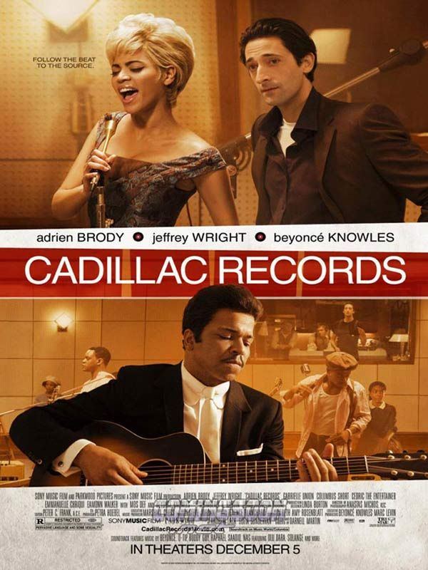 affiche du film Cadillac Records