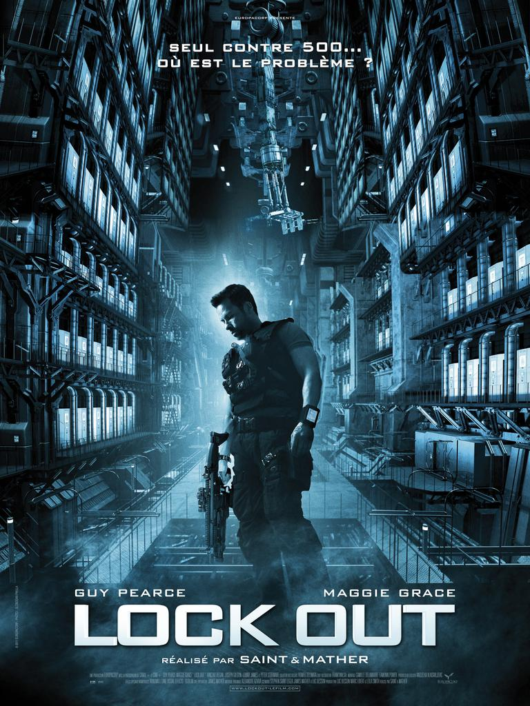 affiche du film Lock Out