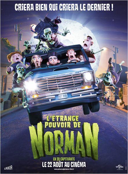 affiche du film L'étrange pouvoir de Norman