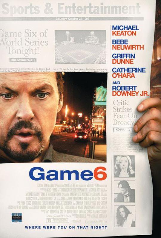 affiche du film Game 6