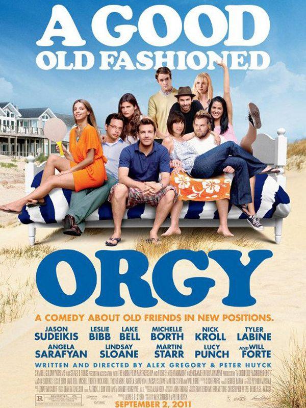 affiche du film Petite orgie entre amis