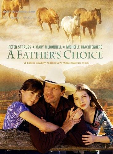 affiche du film Un cow-boy pour père (TV)